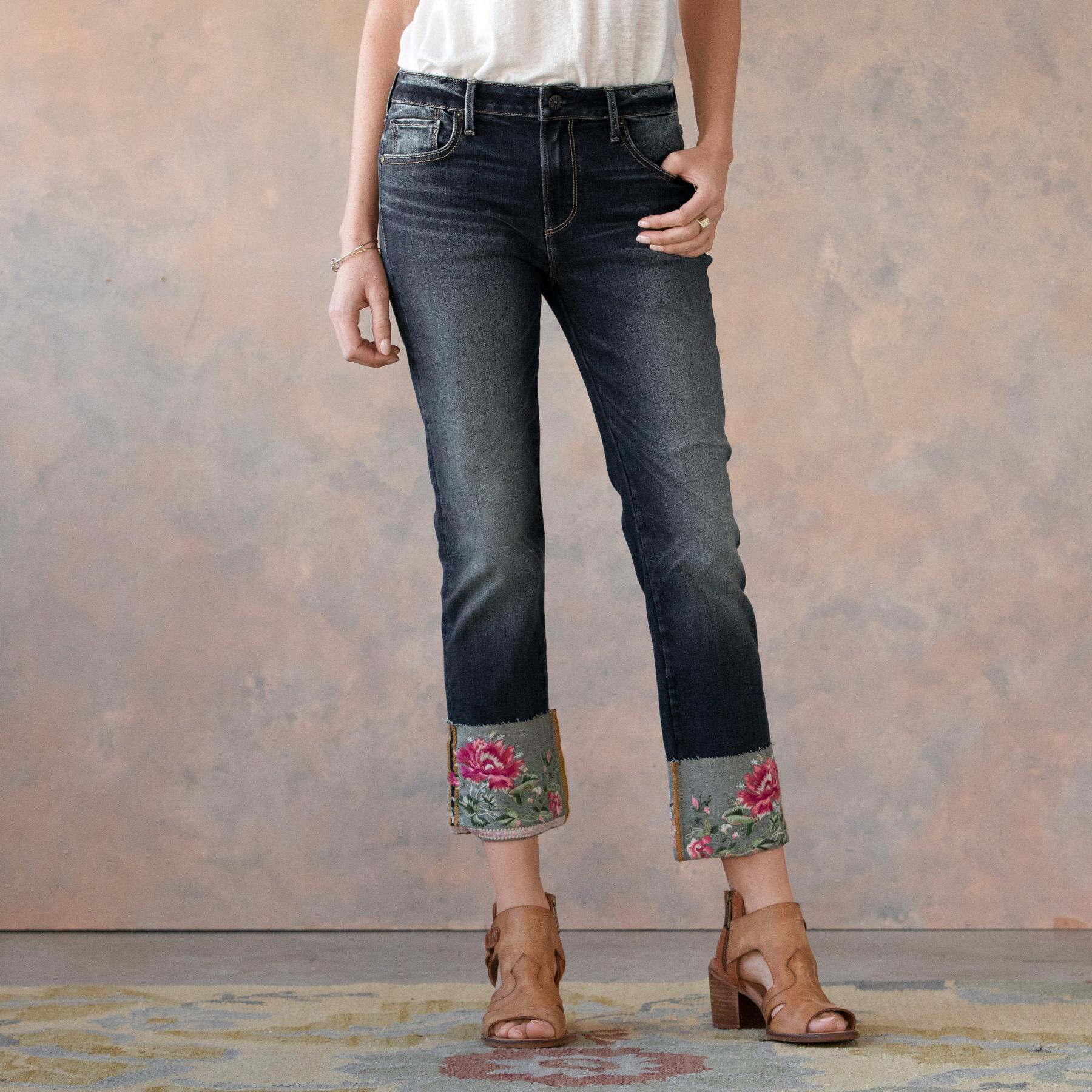BLOOMING COLETTE JEANS: View 2