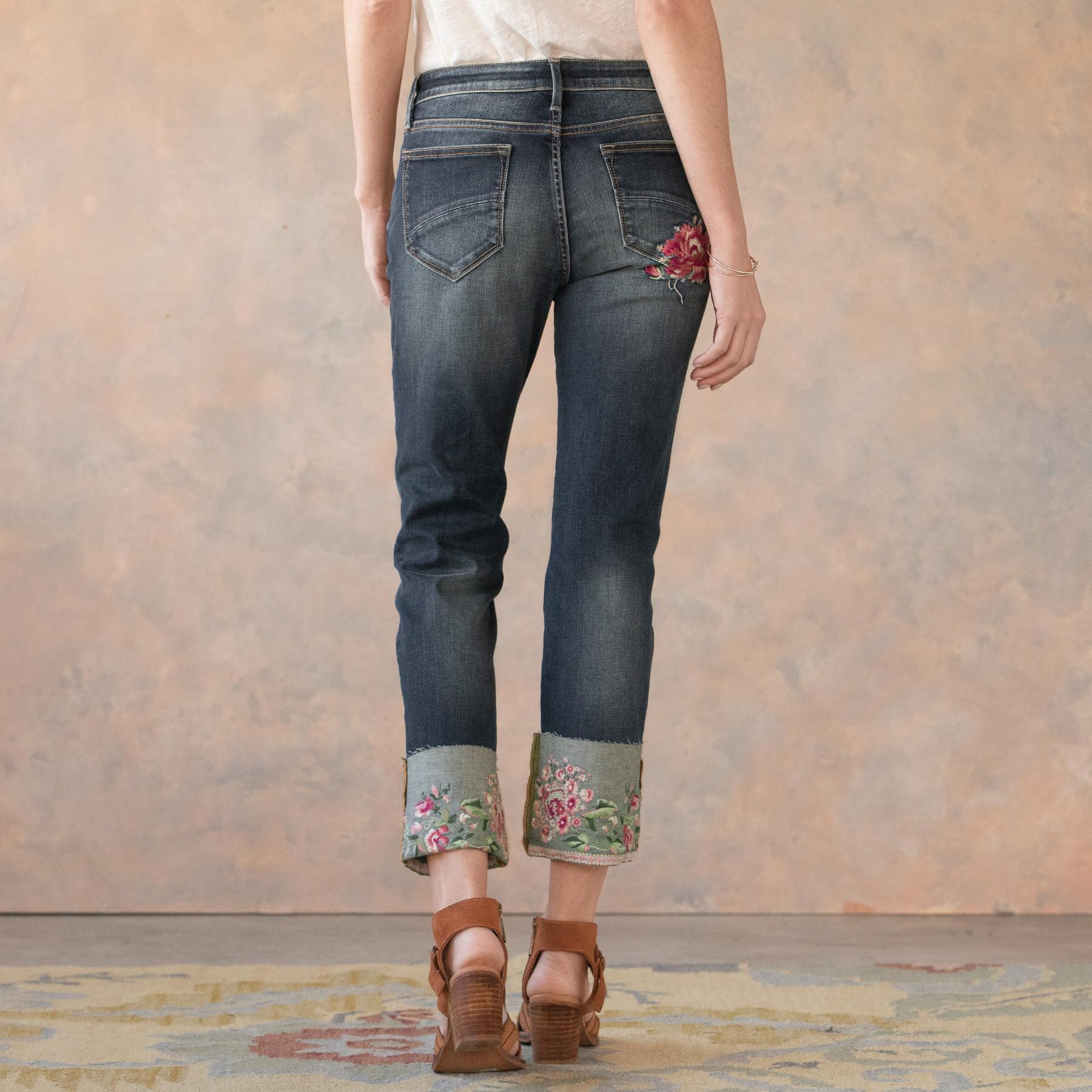 BLOOMING COLETTE JEANS: View 3