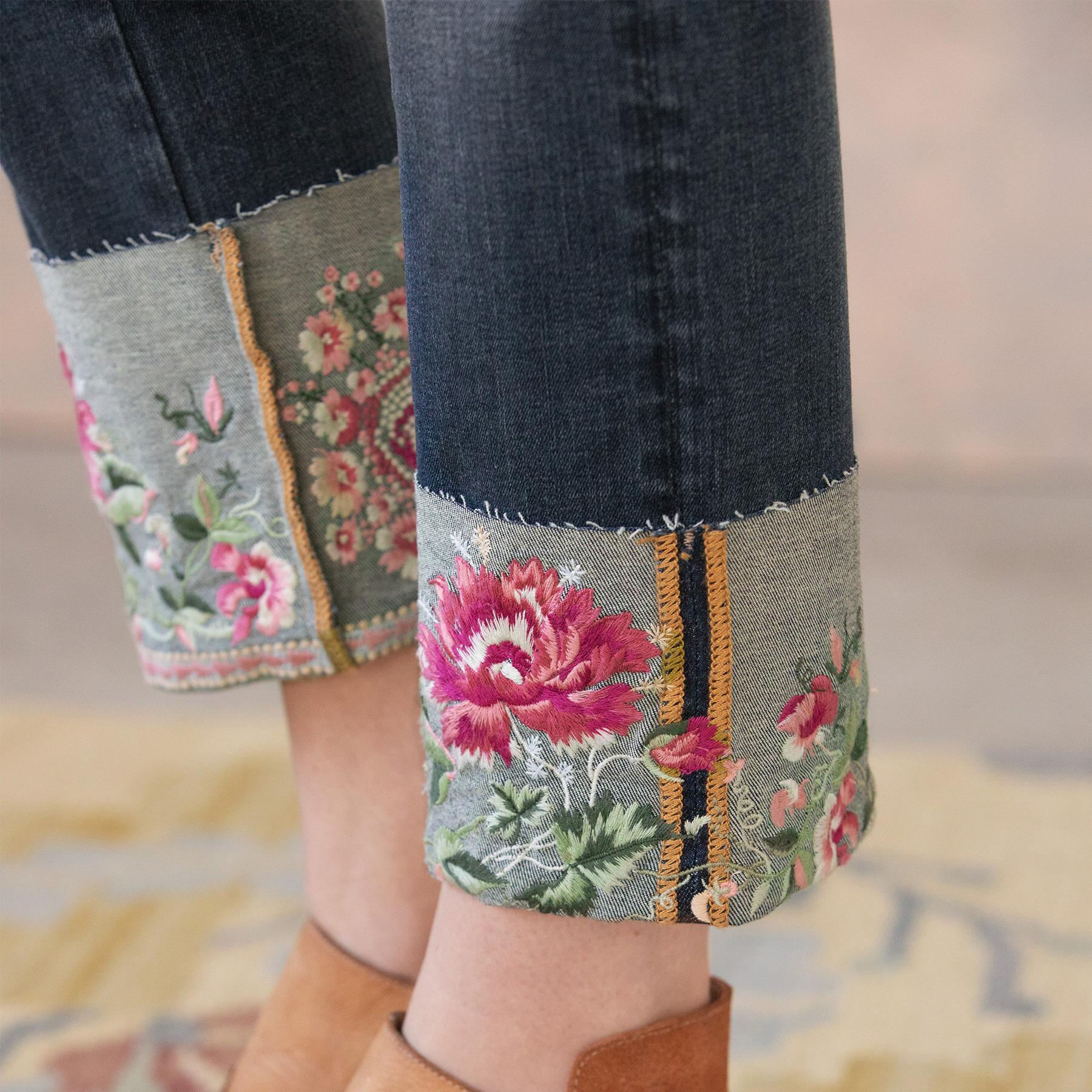 BLOOMING COLETTE JEANS: View 5