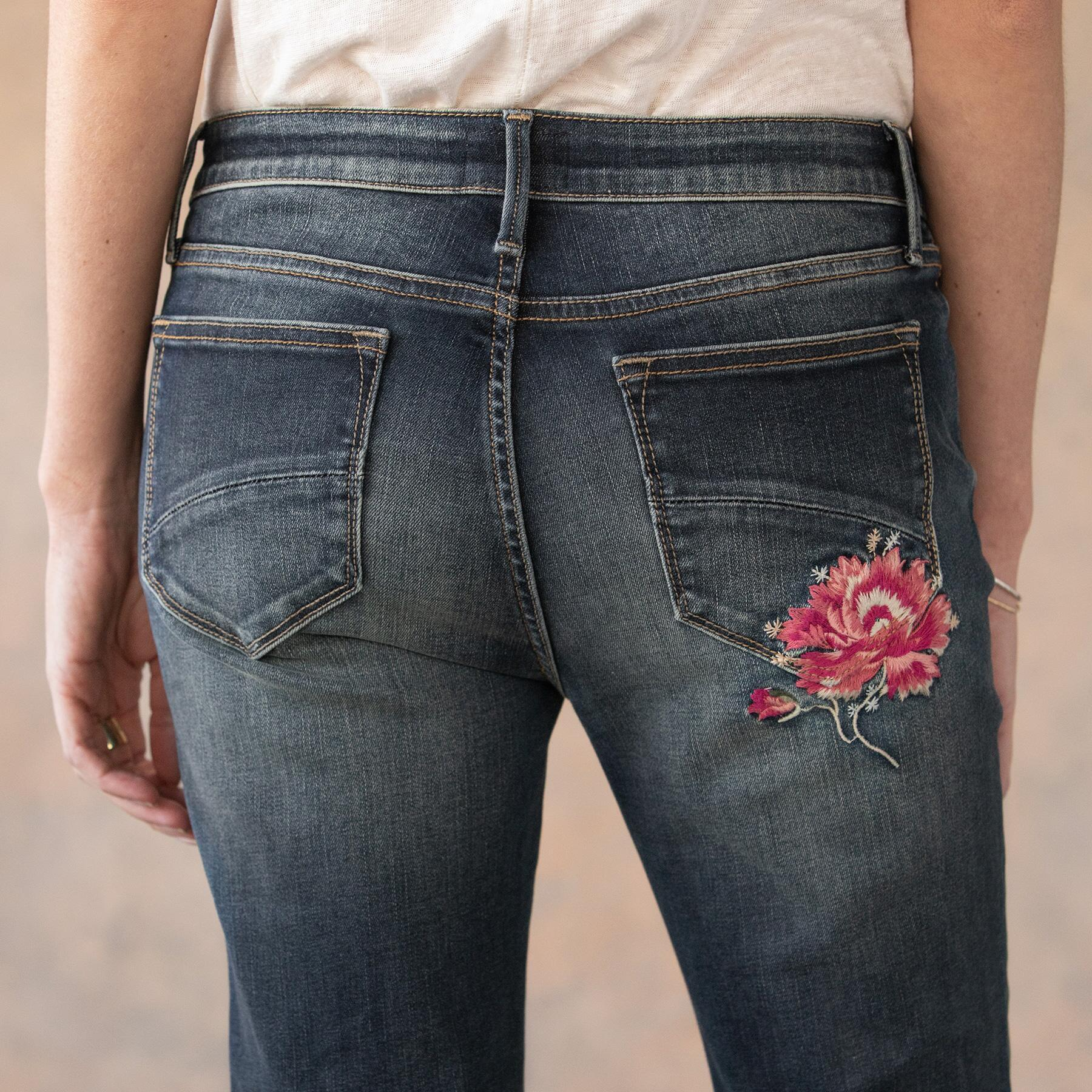 BLOOMING COLETTE JEANS: View 6