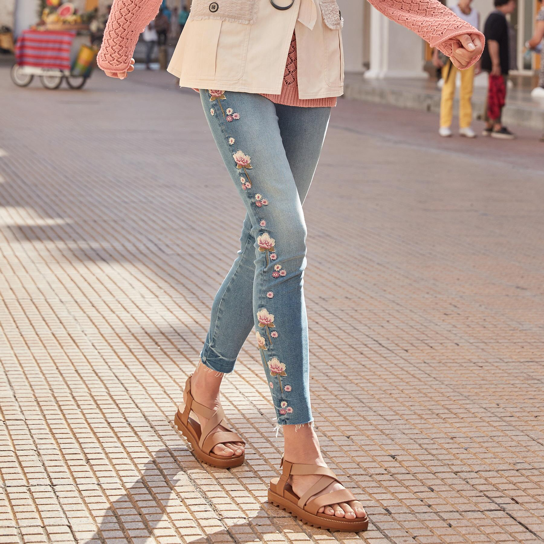 JACKIE ROSEWOOD JEANS: View 1