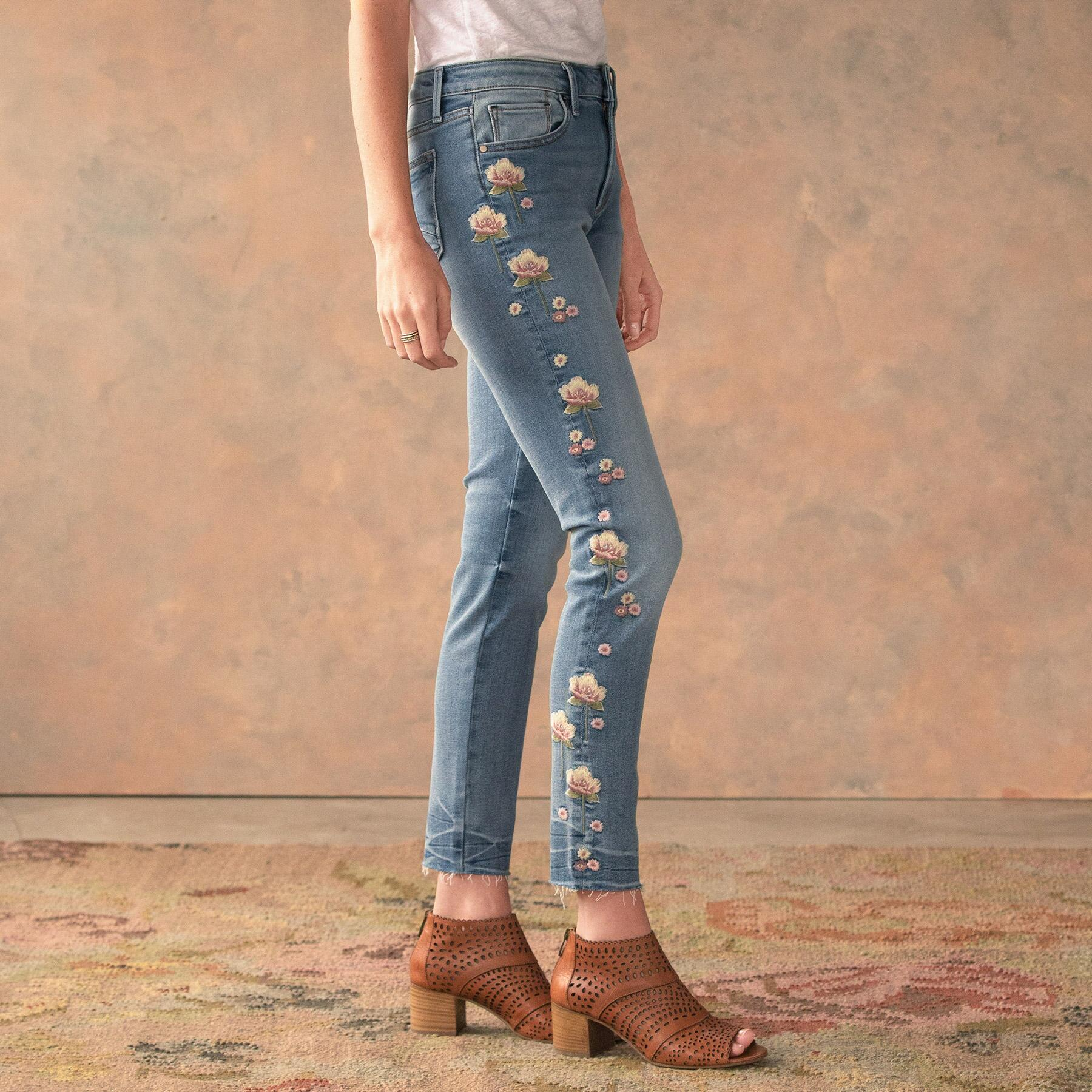 JACKIE ROSEWOOD JEANS: View 3