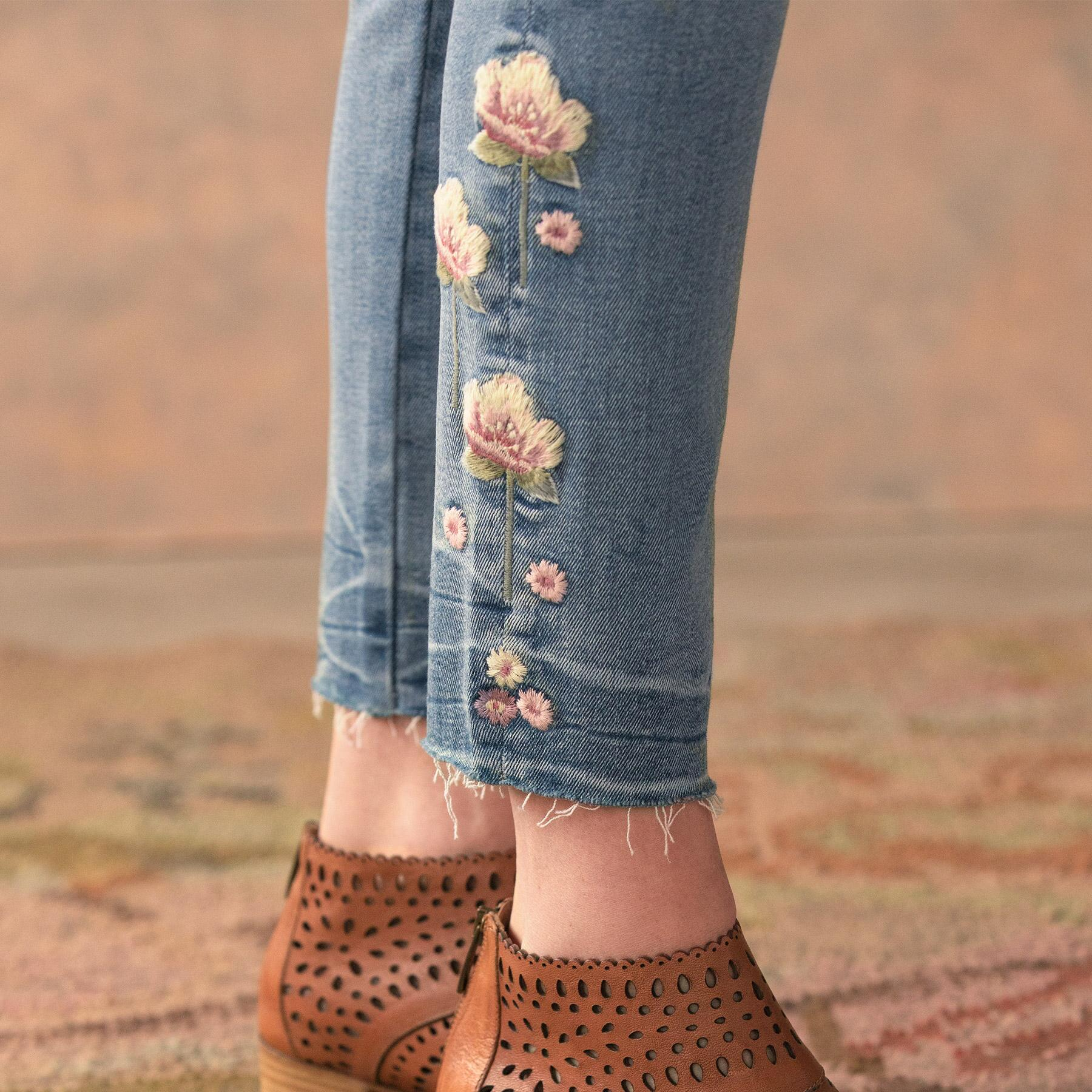 JACKIE ROSEWOOD JEANS: View 6