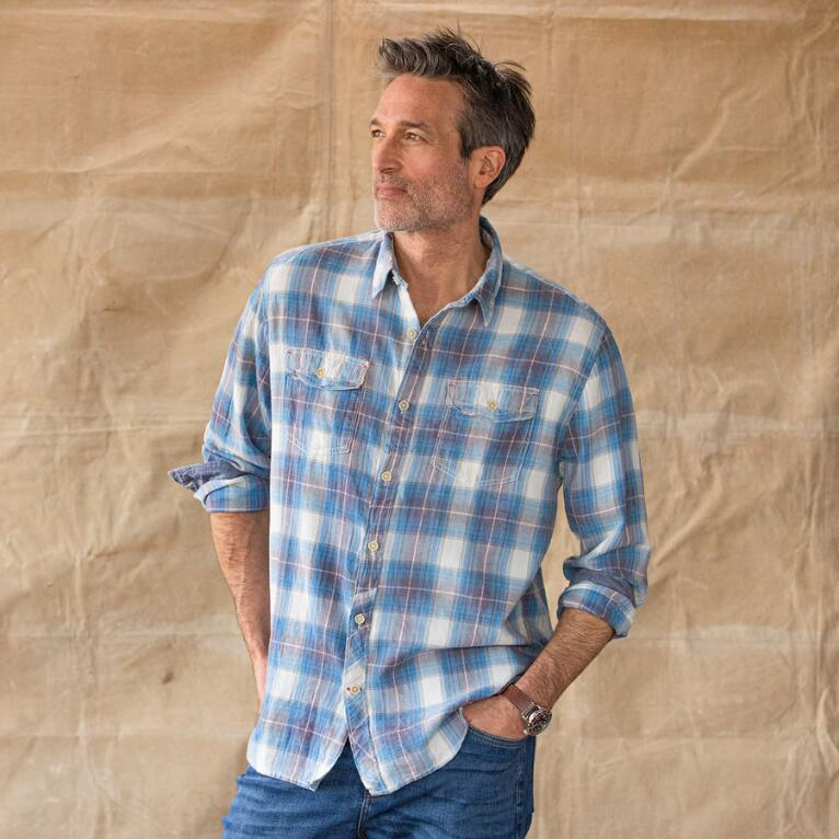 BLUE RIDGE PLAID SHIRT
