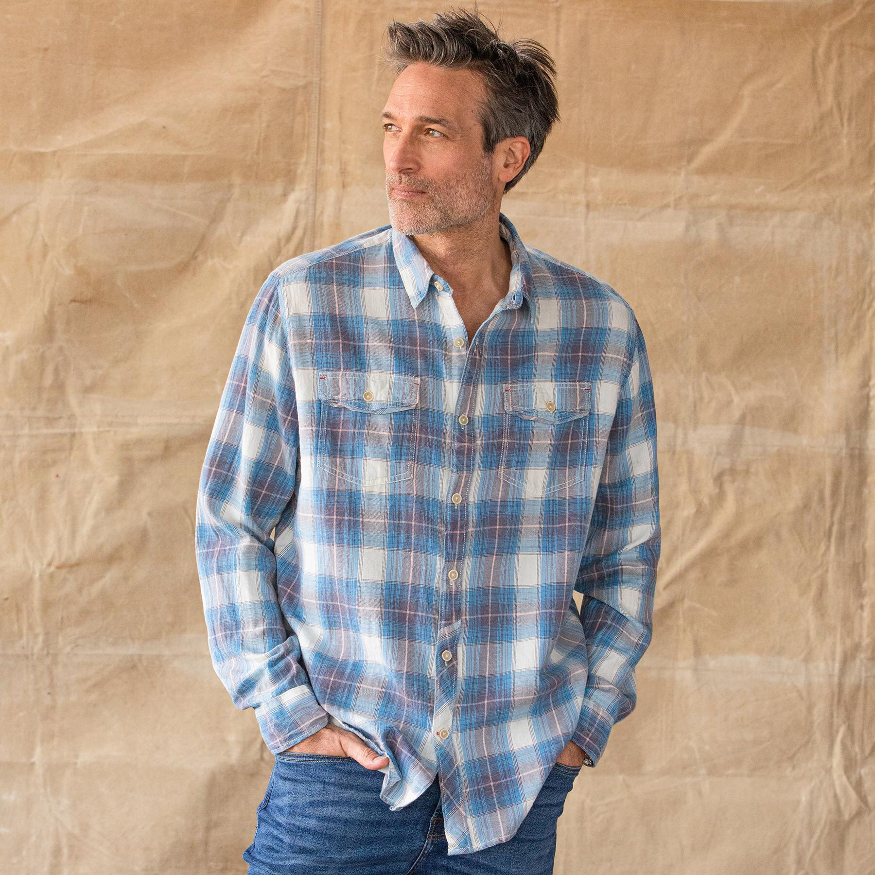 BLUE RIDGE PLAID SHIRT: View 2