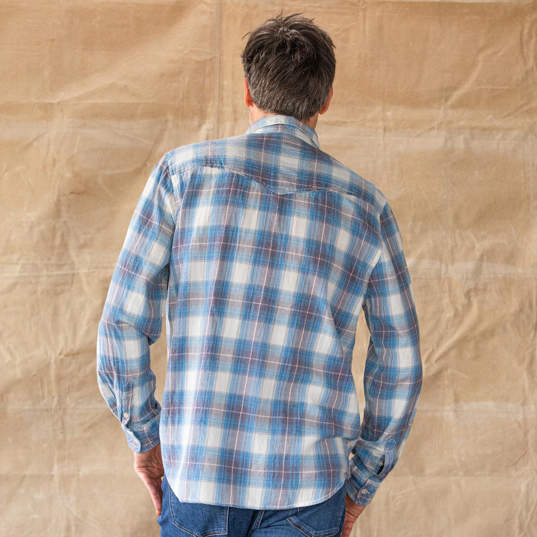 BLUE RIDGE PLAID SHIRT: View 3