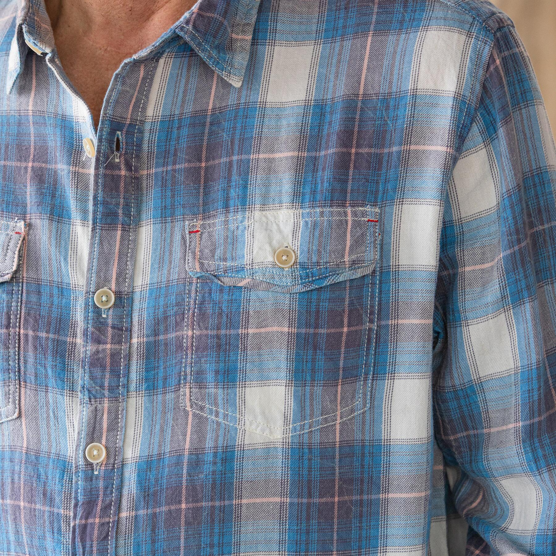 BLUE RIDGE PLAID SHIRT: View 4