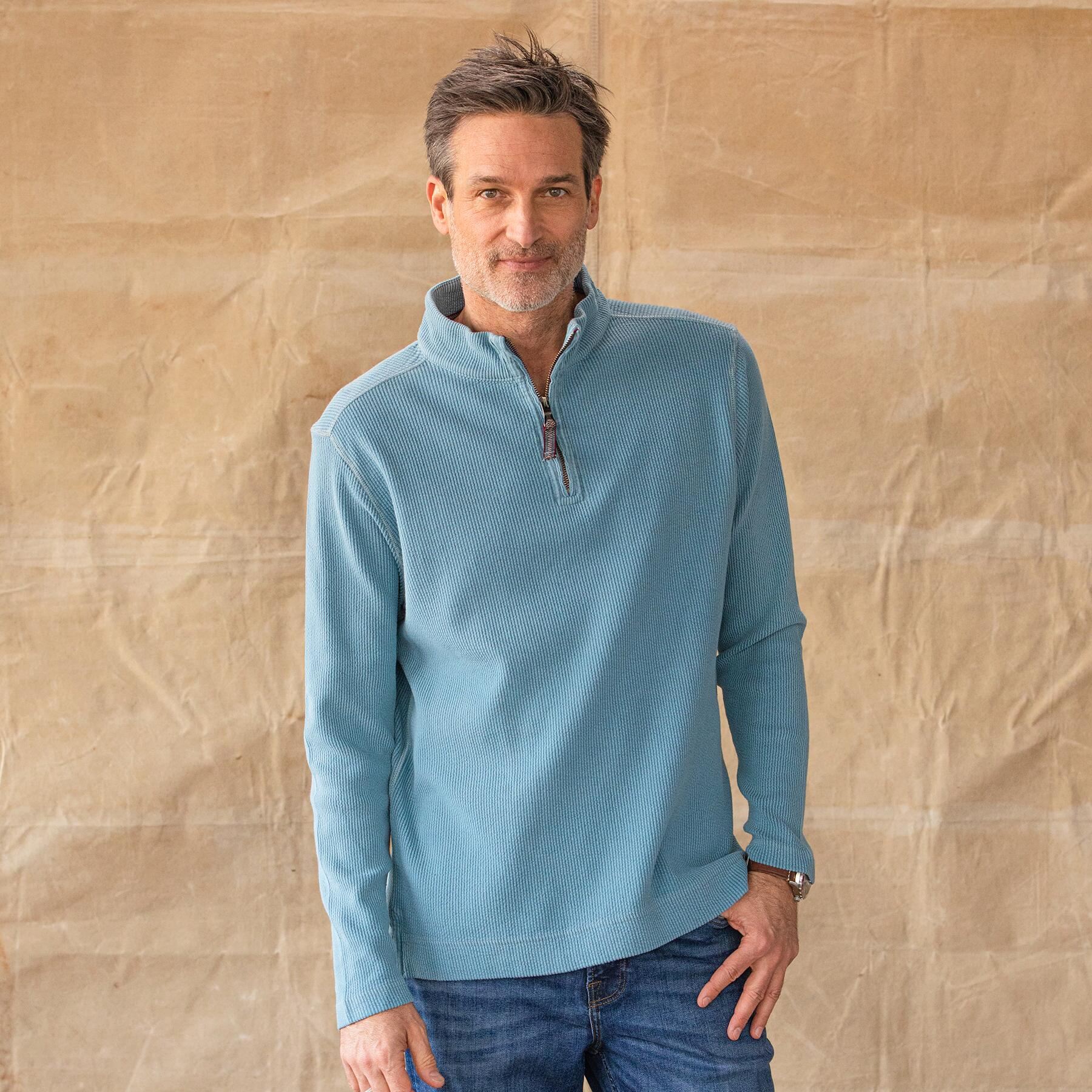 BRIDGEWATER 1/4 ZIP PULLOVER: View 1