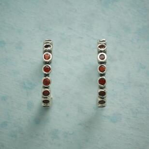 HEARTBEAT HOOP EARRINGS