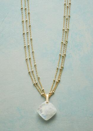 JUNO MOONSTONE NECKLACE