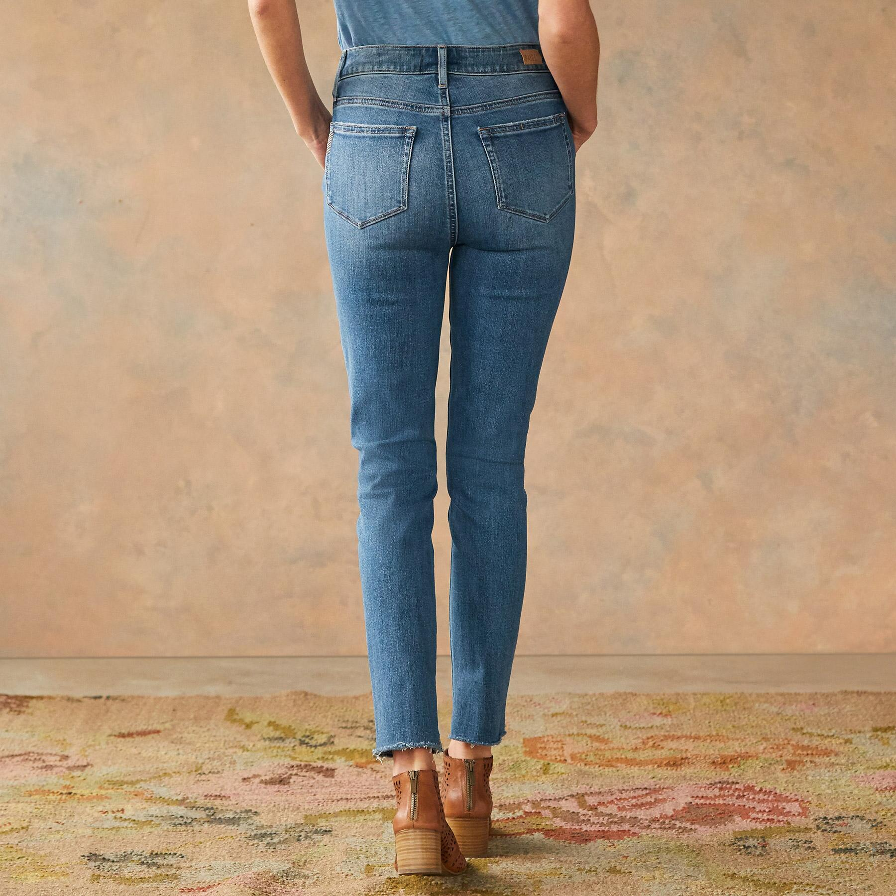 MARGOT FRAYED SKINNY JEANS: View 2