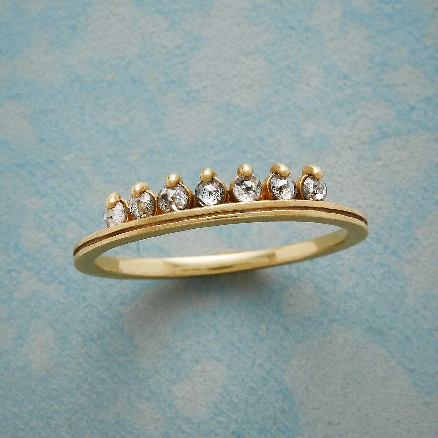 DIAMOND TIARA RING: View 1