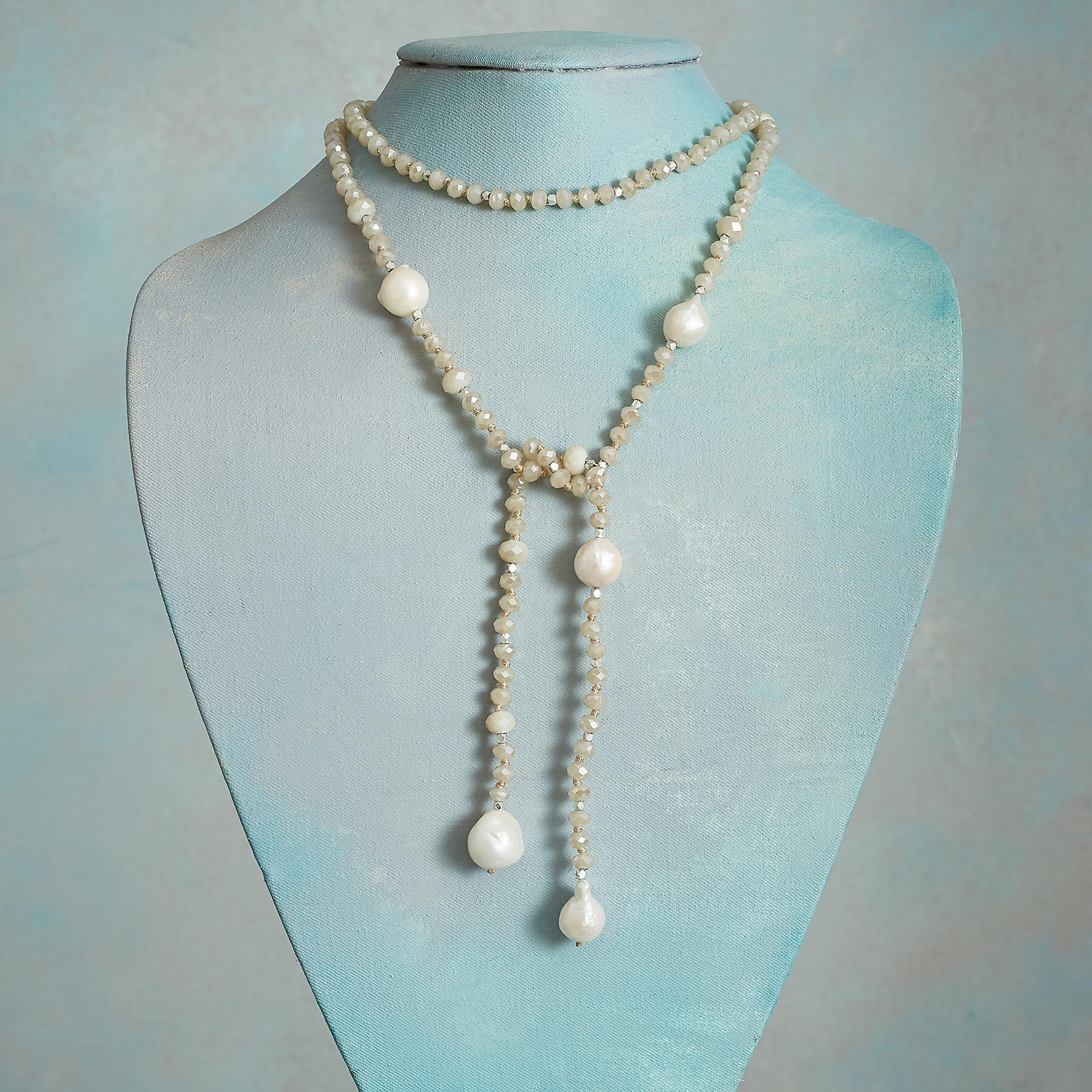 LUMINOSITY LARIAT NECKLACE: View 2