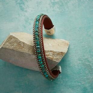 DESERT BYWAYS TURQUOISE CUFF
