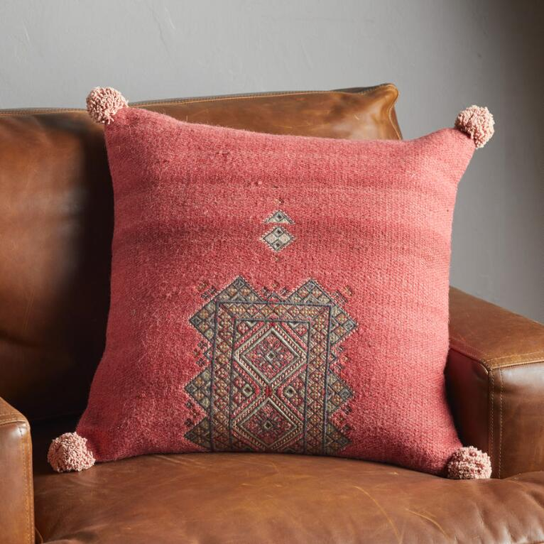 SUNSET RIDGE BERRY PILLOW