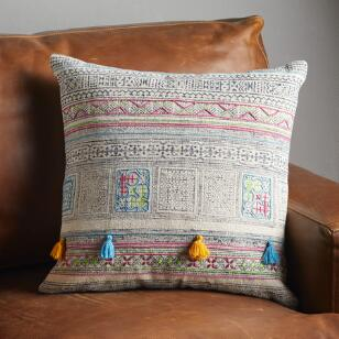 ANANYA TASSEL SQUARE PILLOWS