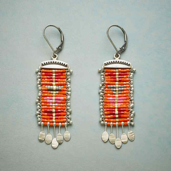 RED SKY EARRINGS