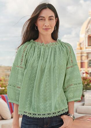 BEAUTIFUL JOURNEYS BLOUSE