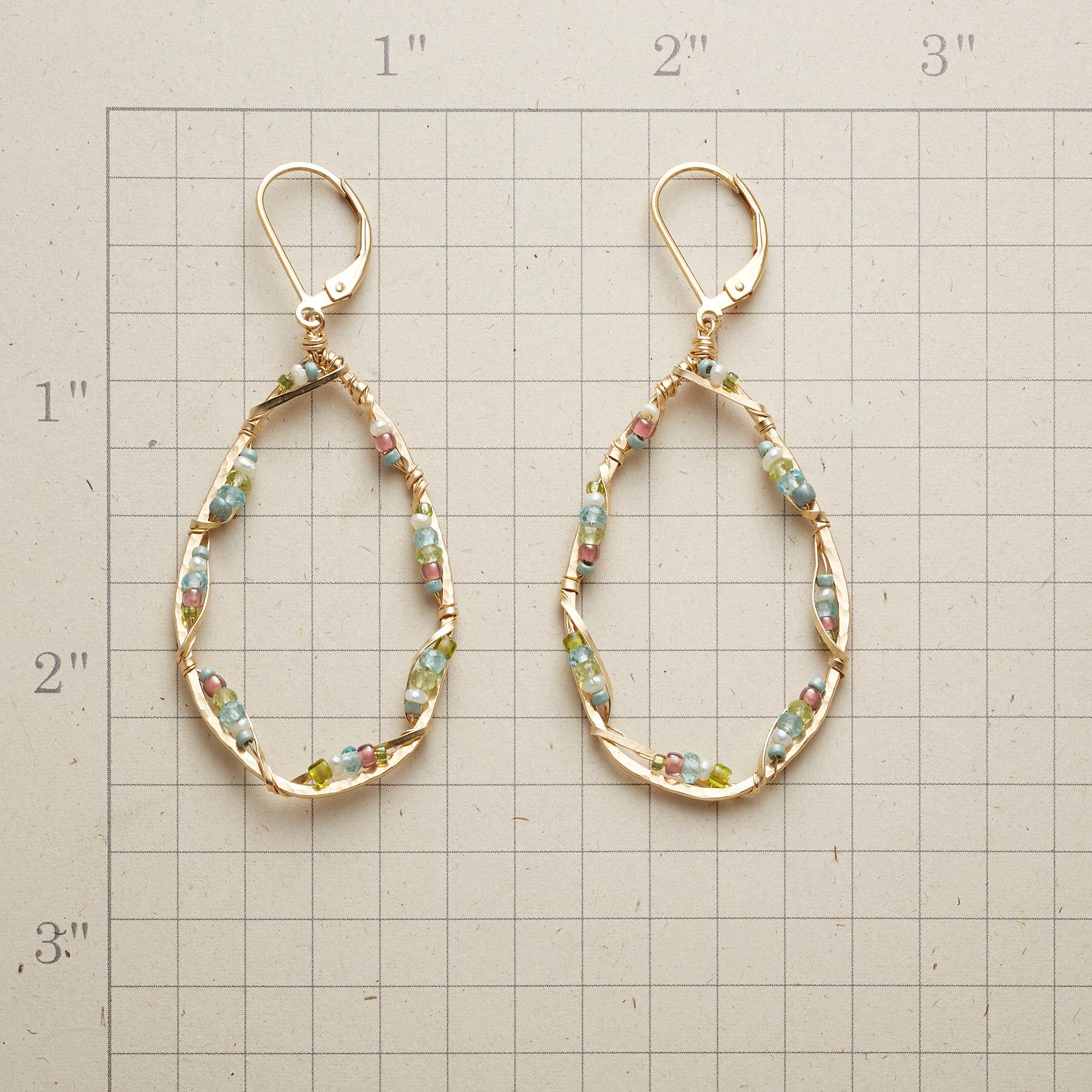 DAY IN MAY HOOP EARRINGS: View 2