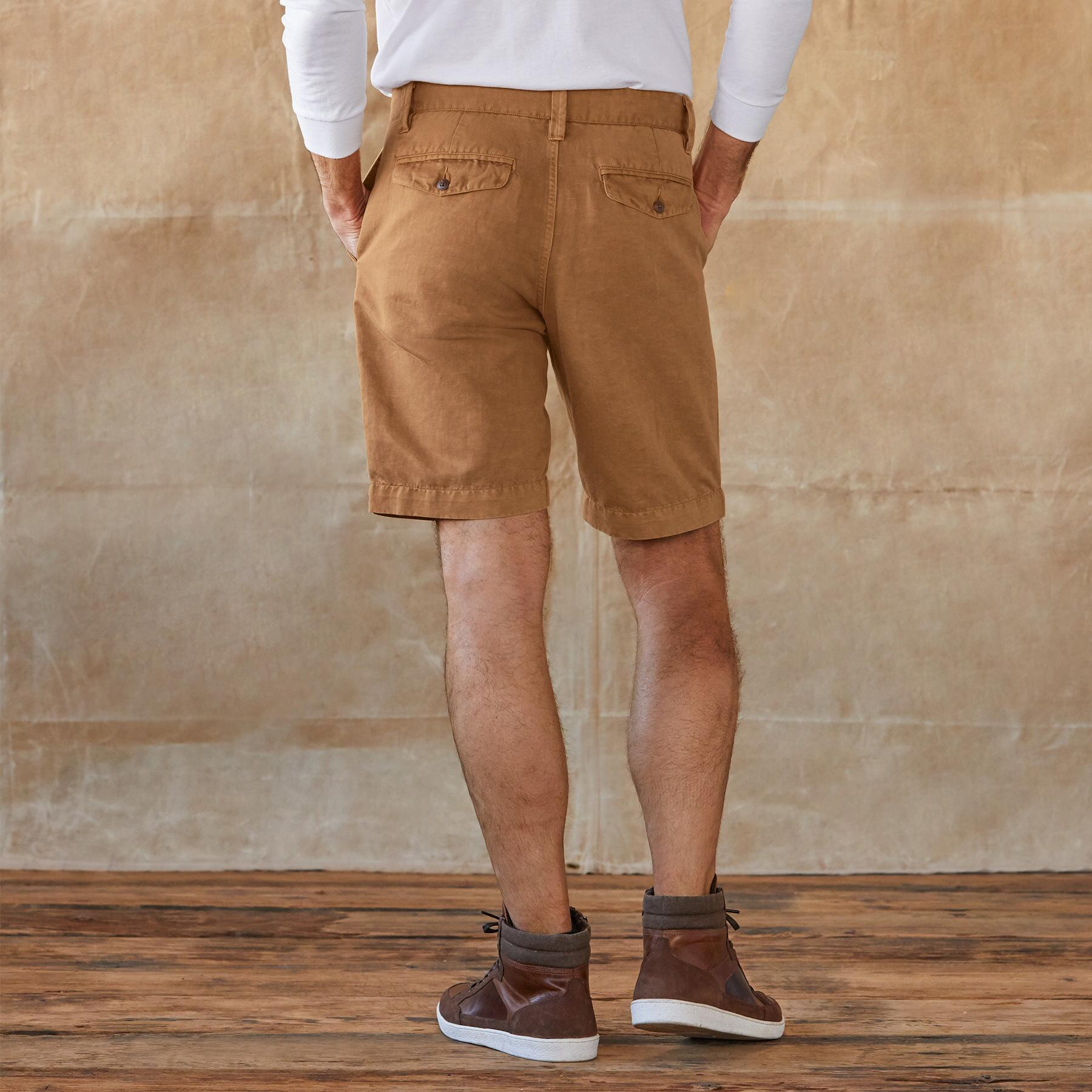 TATE LINEN SHORTS: View 2