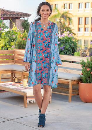 EMILIA FLORAL DRESS