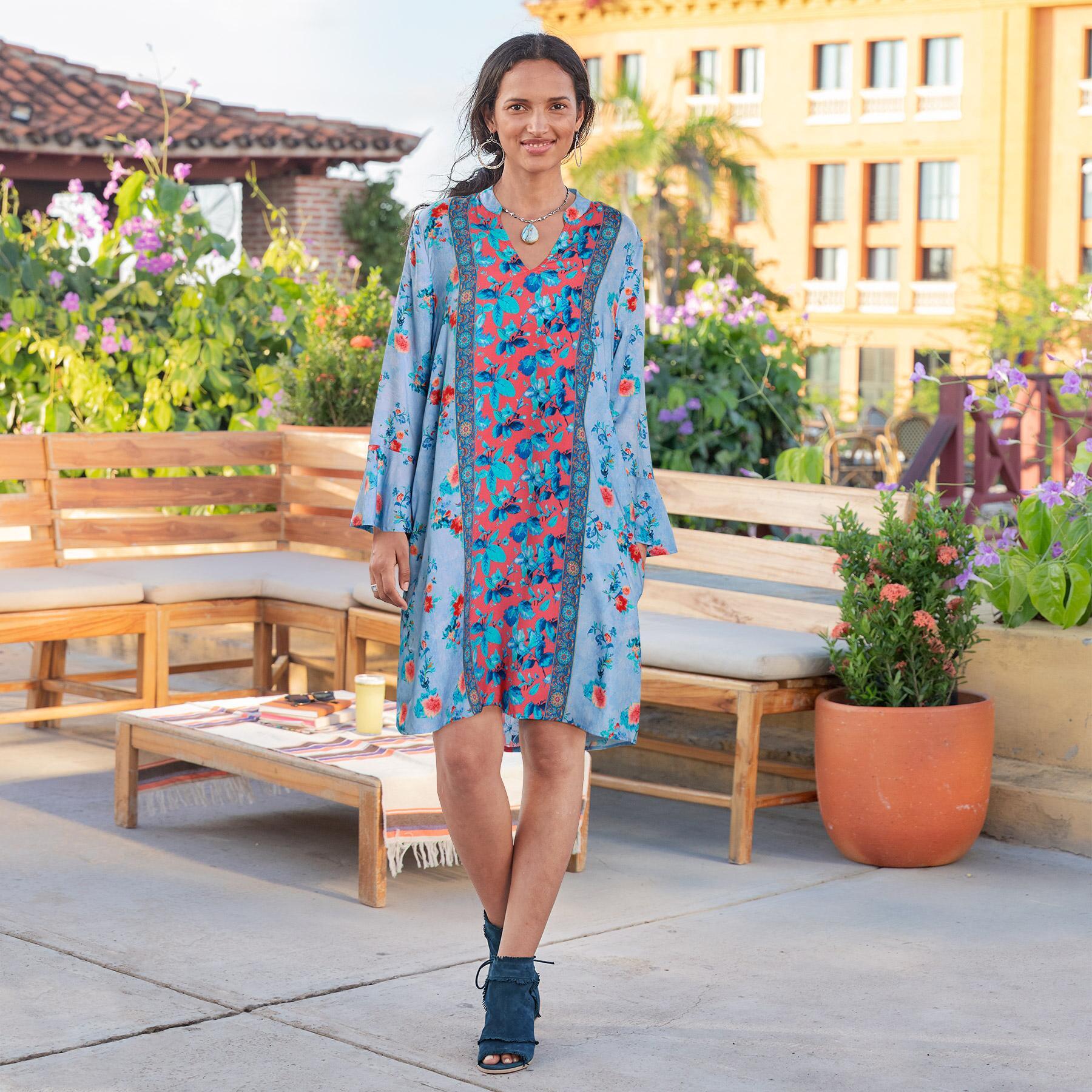 EMILIA FLORAL DRESS: View 1