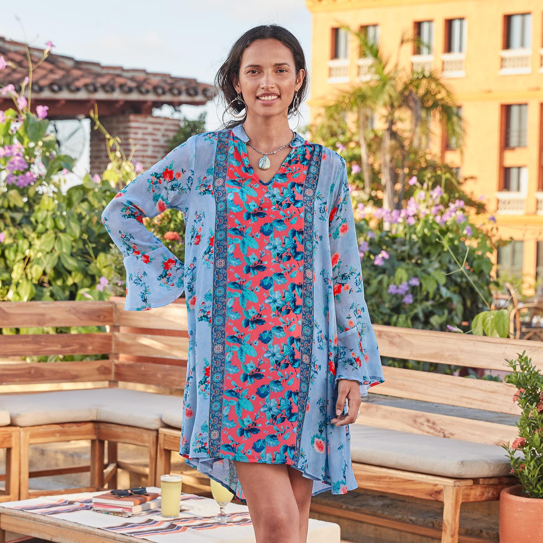 EMILIA FLORAL DRESS: View 2
