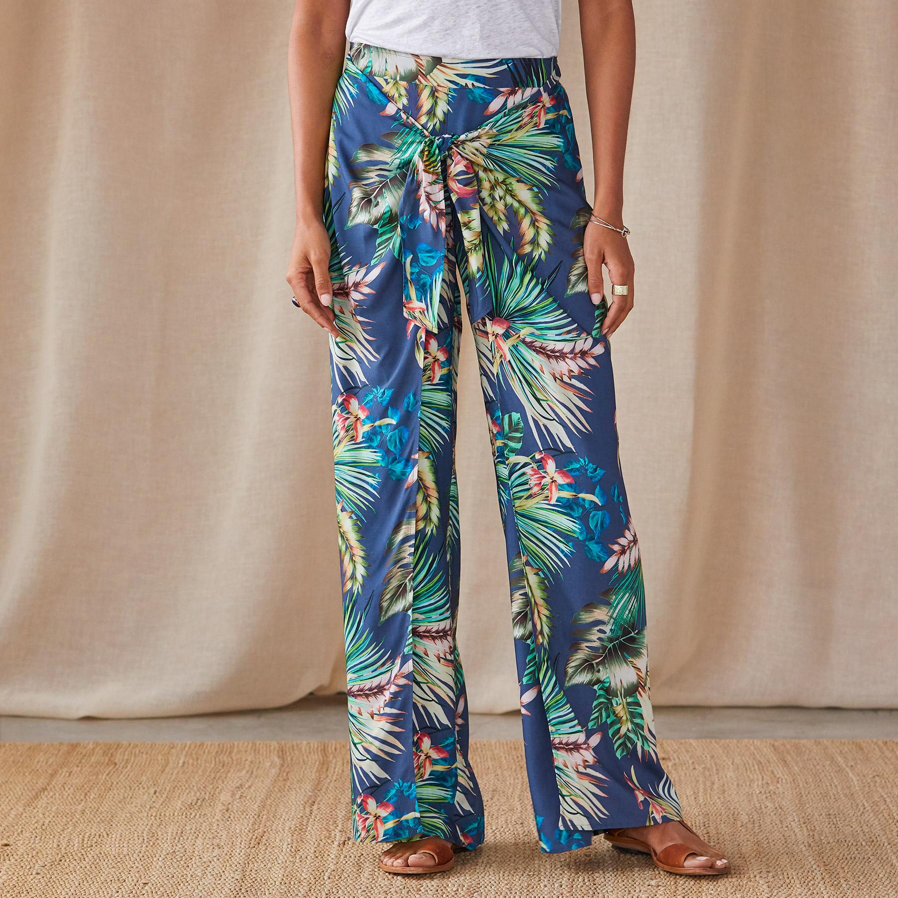 PARADISE IN BLOOM PANTS: View 1