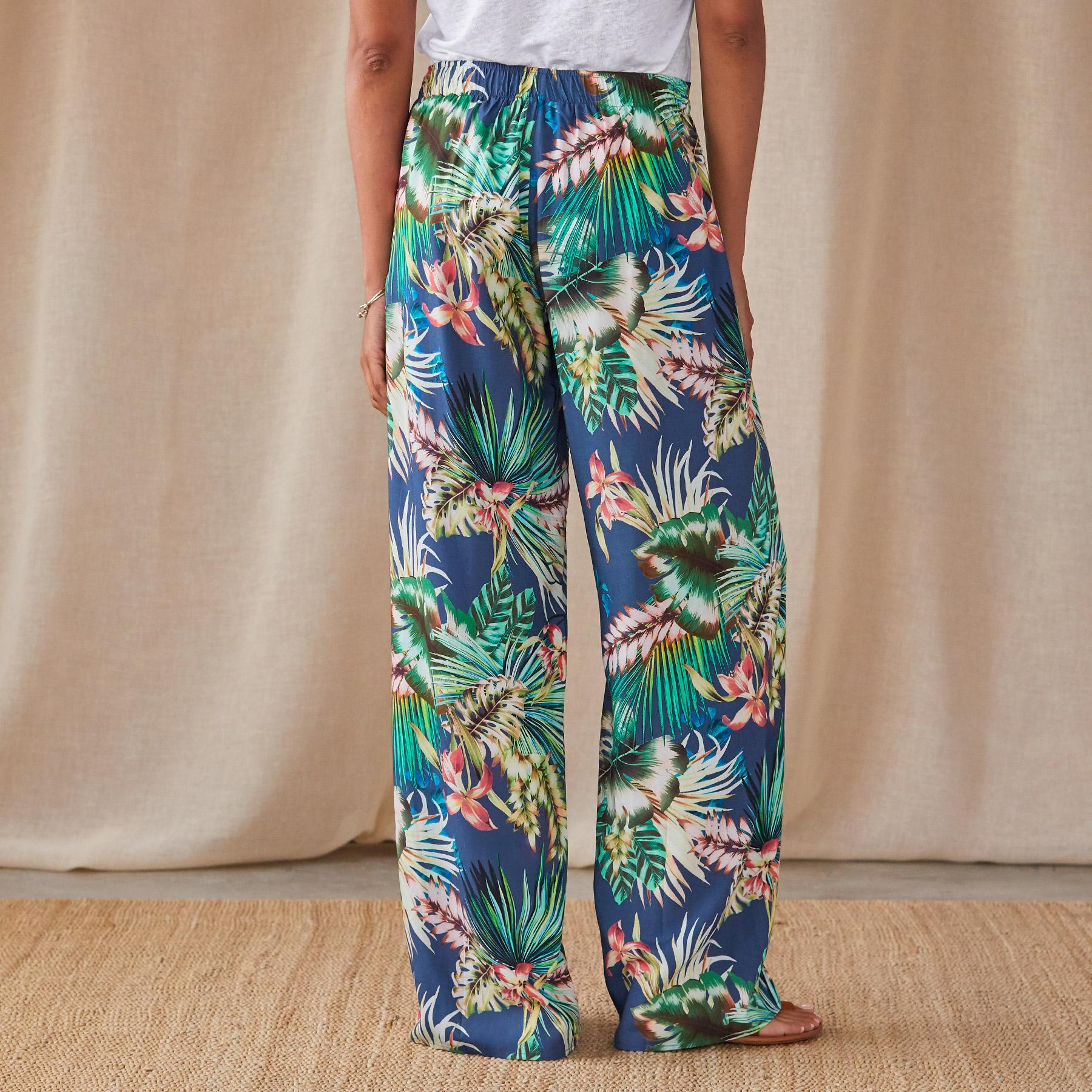 PARADISE IN BLOOM PANTS: View 2