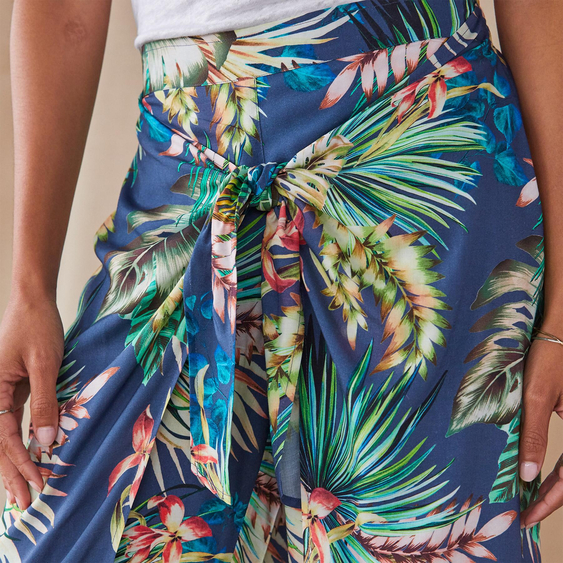 PARADISE IN BLOOM PANTS: View 3