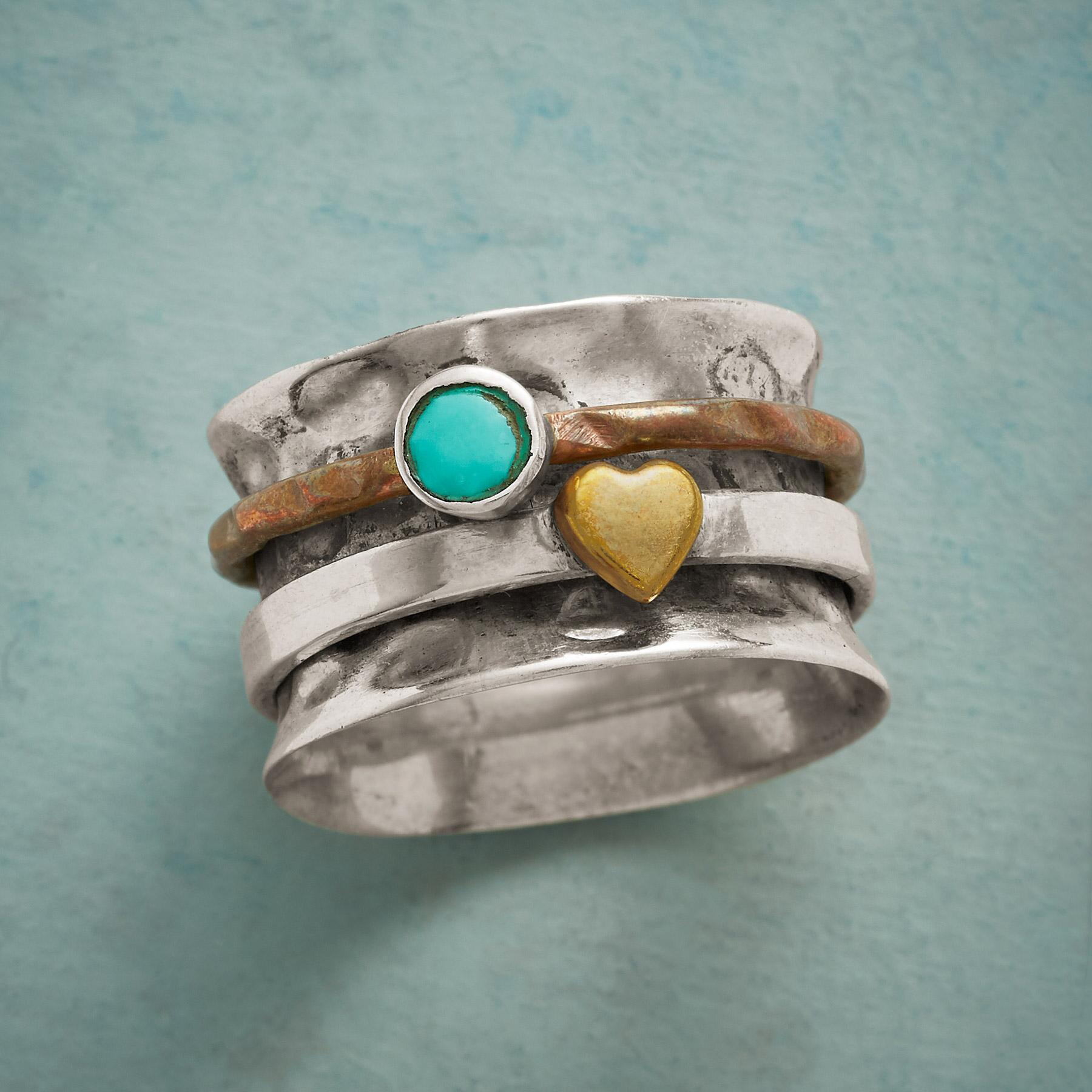 LIGHTHEARTED SPINNER RING: View 1