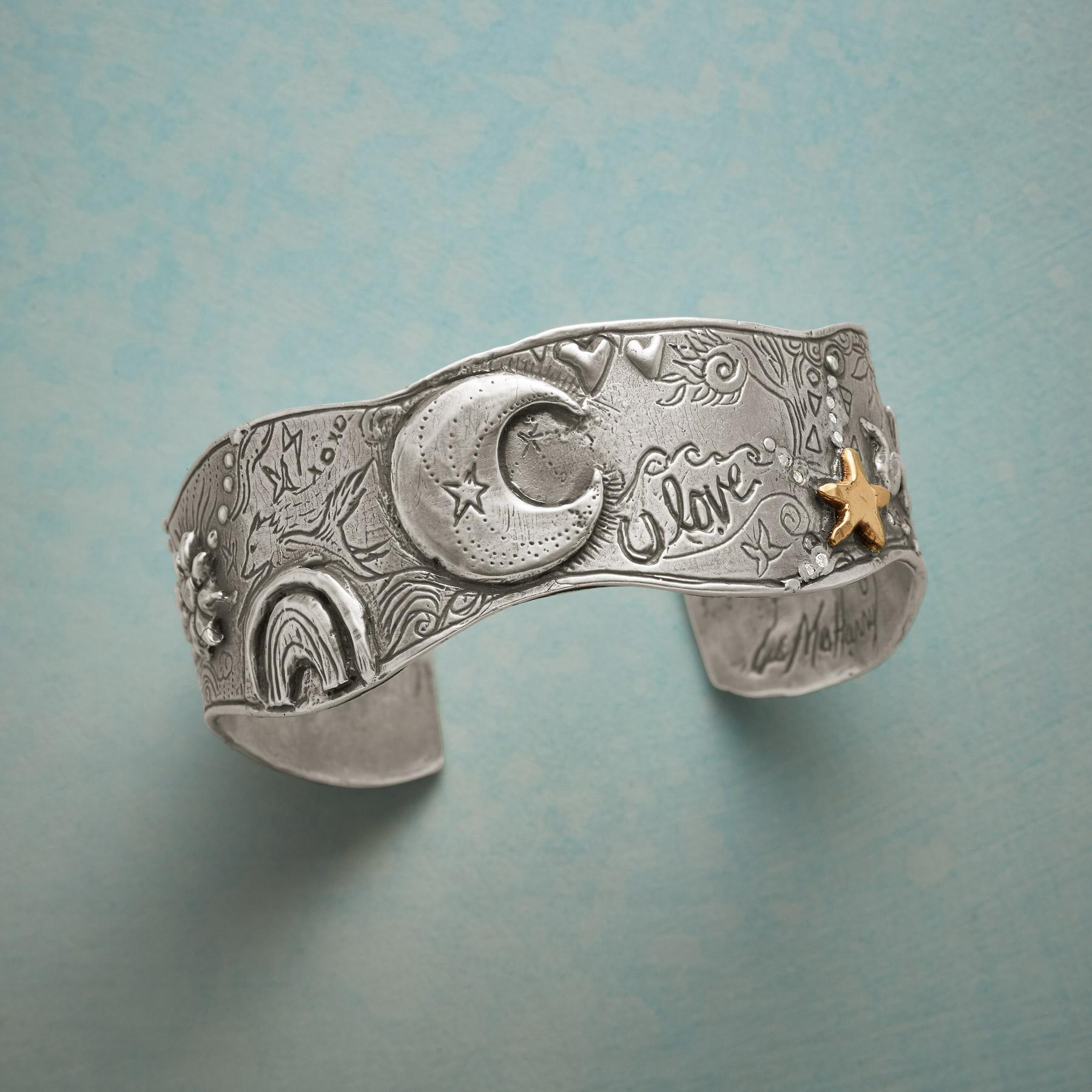 MYSTIC NIGHTS DIAMOND CUFF: View 1