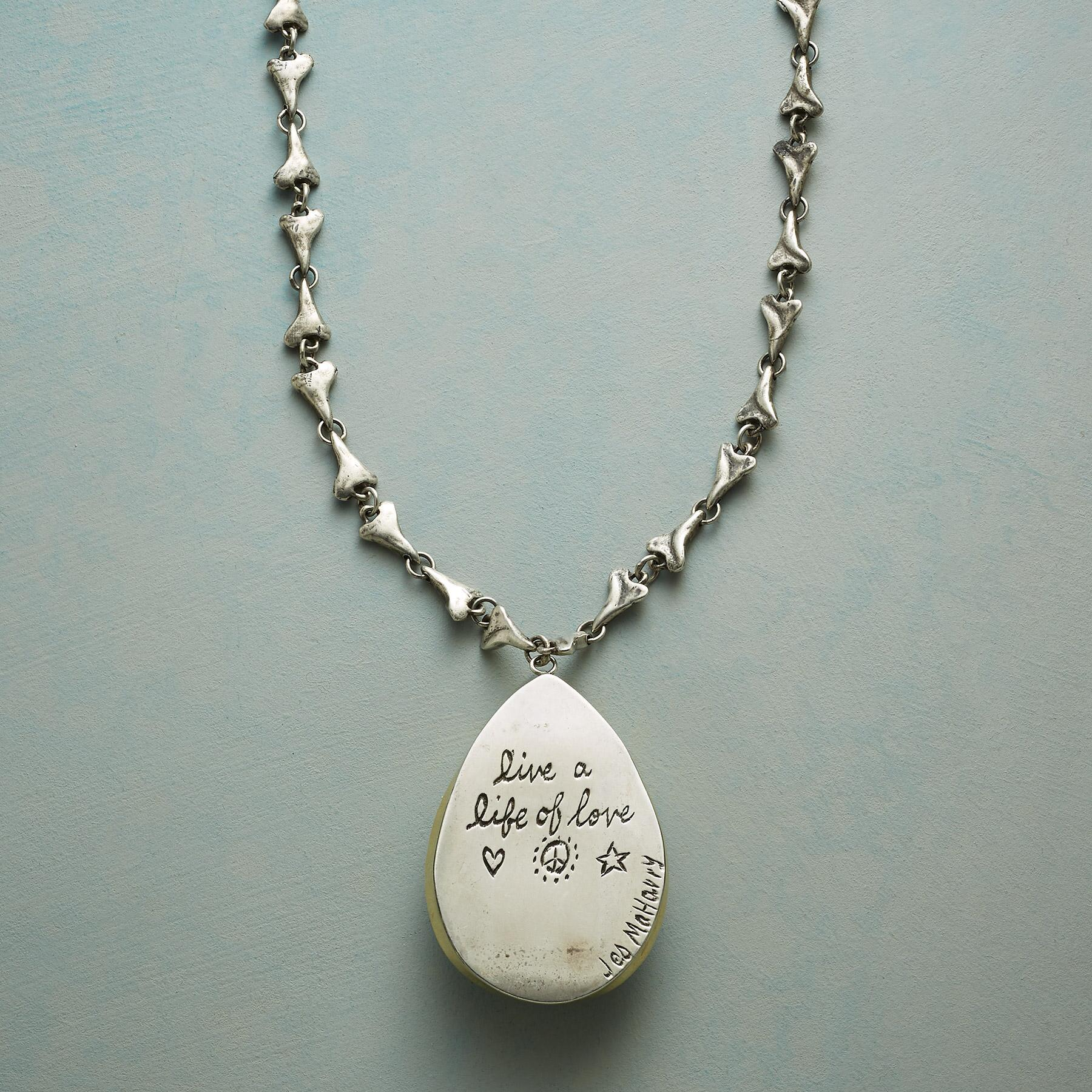 LIFE OF LOVE NECKLACE: View 3