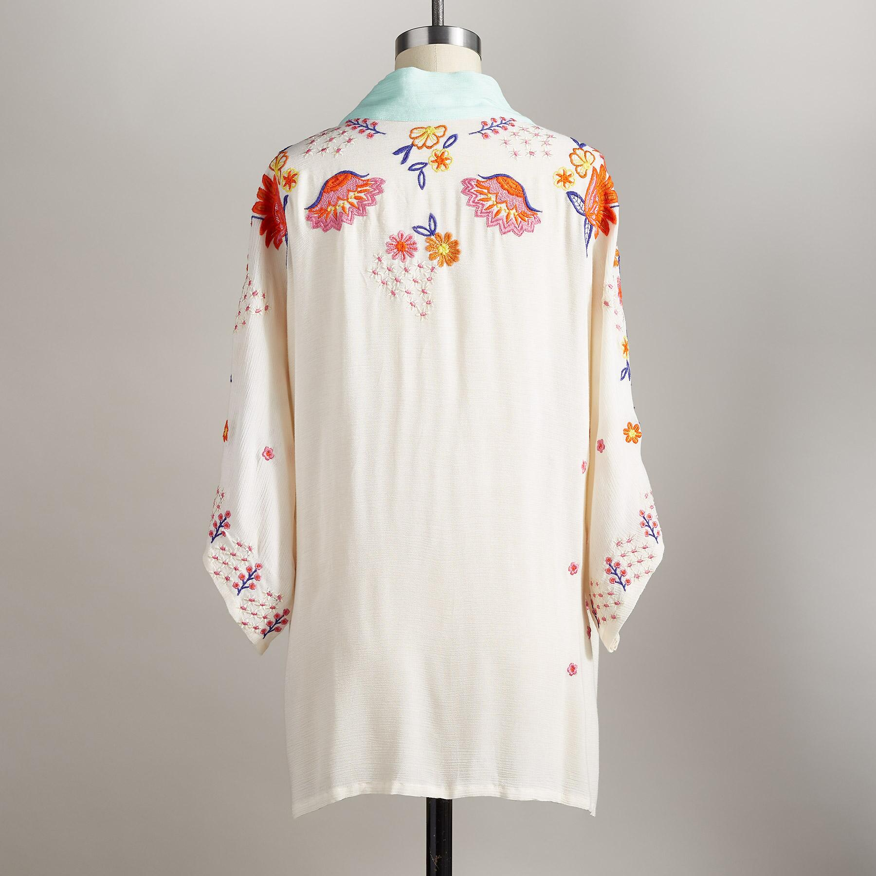 HAPPY FOLK EMBROIDERED JACKET: View 2