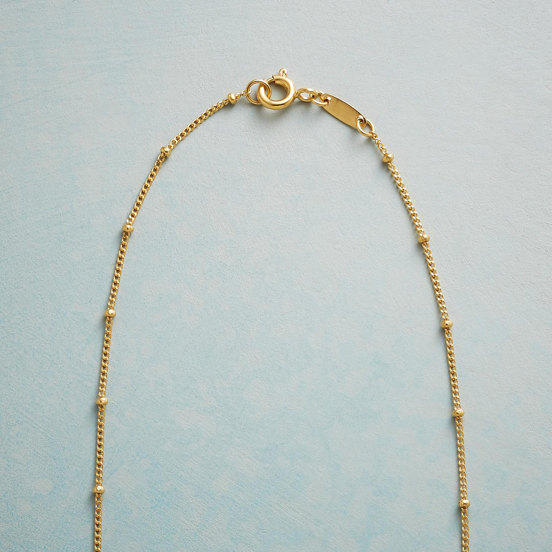 DROPLET OF BLUE NECKLACE: View 3
