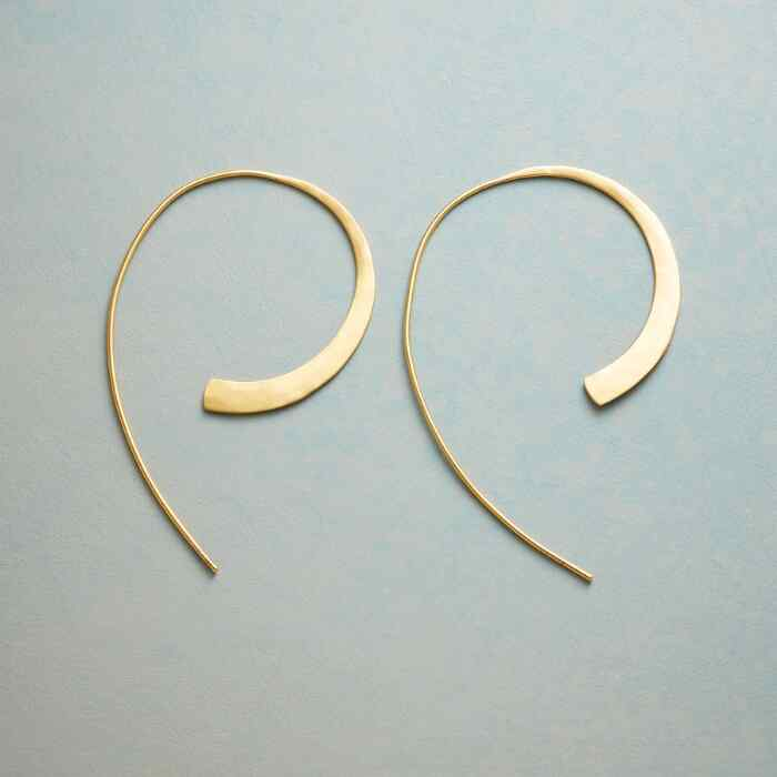 SWOOP HOOP EARRINGS