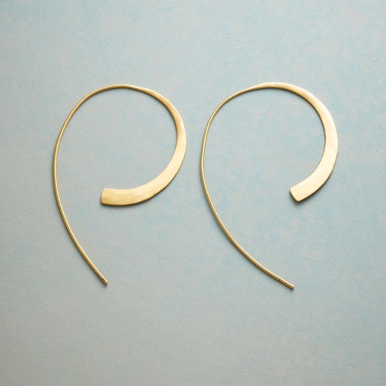 SWOOP HOOP EARRINGS