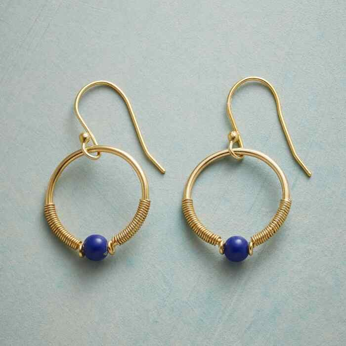 LOOP DE LAPIS EARRINGS