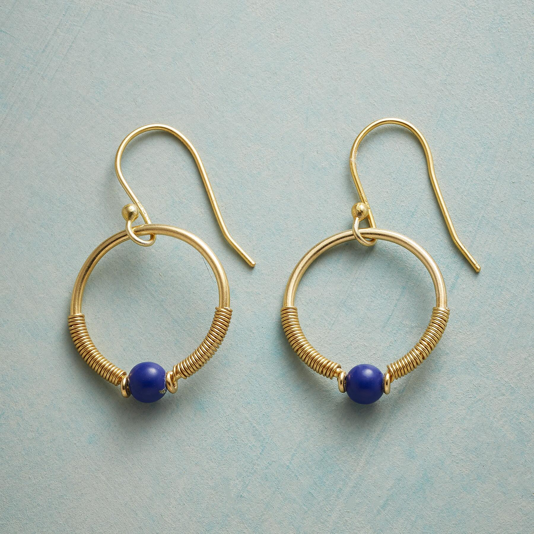 LOOP DE LAPIS EARRINGS: View 1