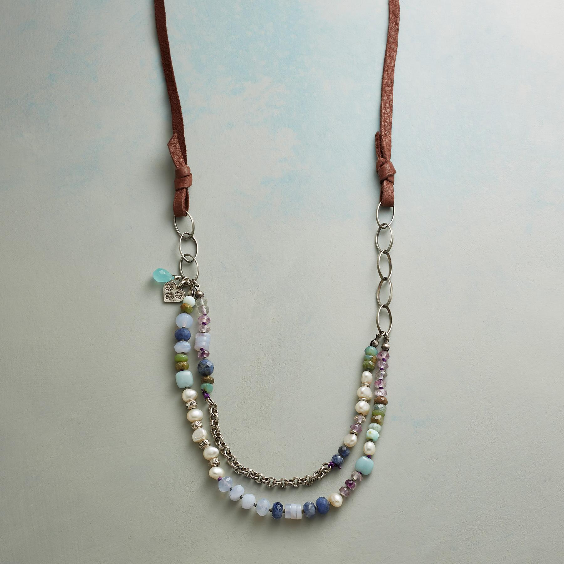 SHADES OF THE SEA NECKLACE: View 1