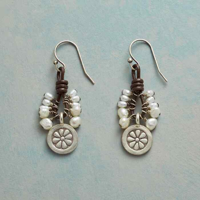 PEARL RAINFALL EARRINGS