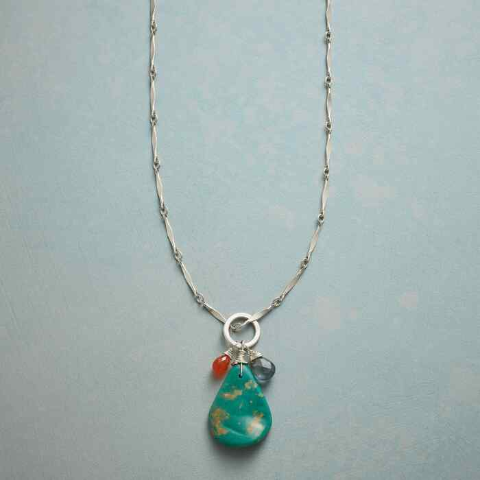 NATURES OWN TURQUOISE NECKLACE