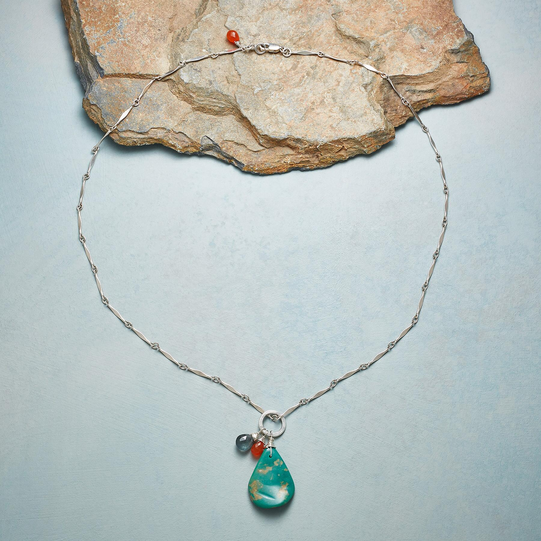 NATURE'S OWN TURQUOISE NECKLACE: View 2