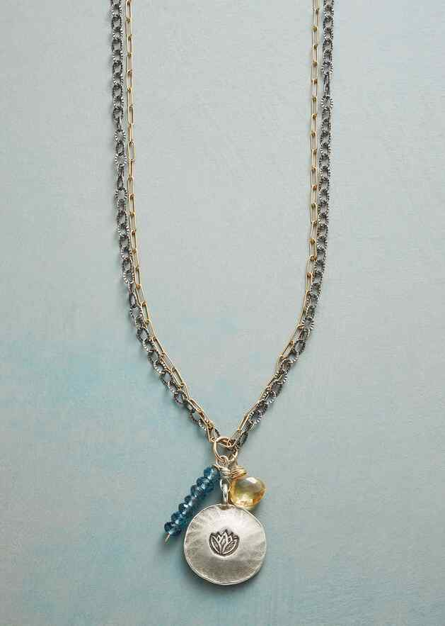 RESILIENCE IN BLOOM NECKLACE