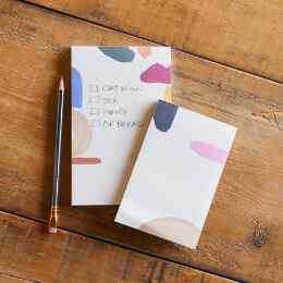 ART FOR YOUR DESK NOTEPADS, SET OF 2
