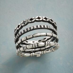 FOUR WAY RING SET