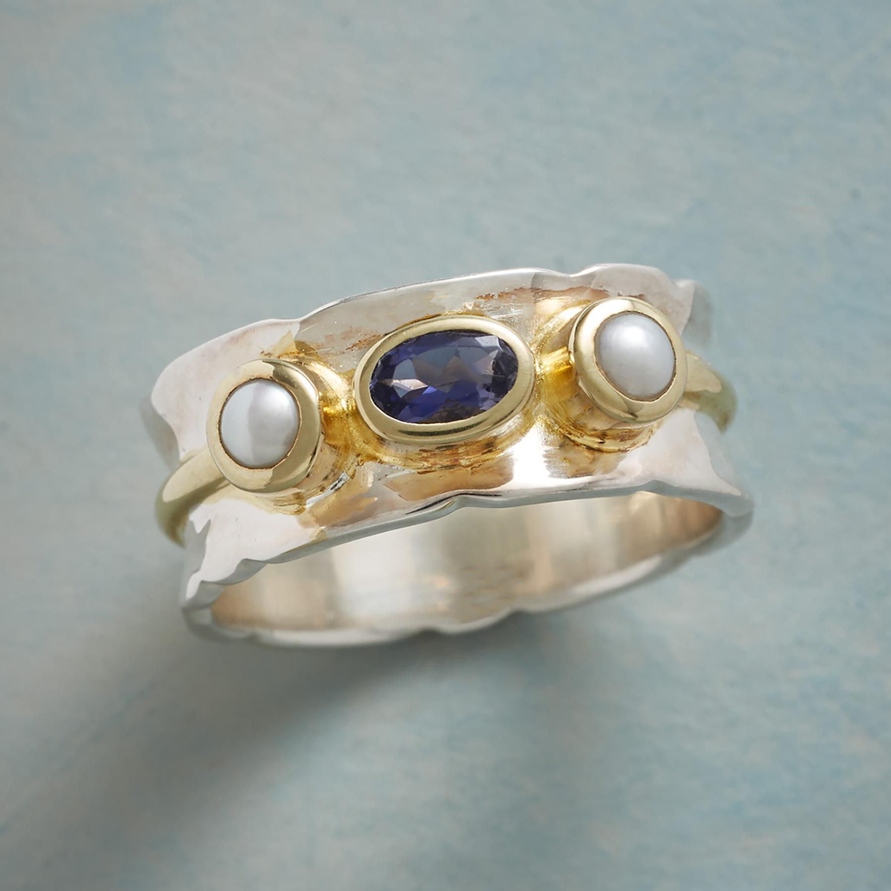PEARL SENTRY RING: View 1