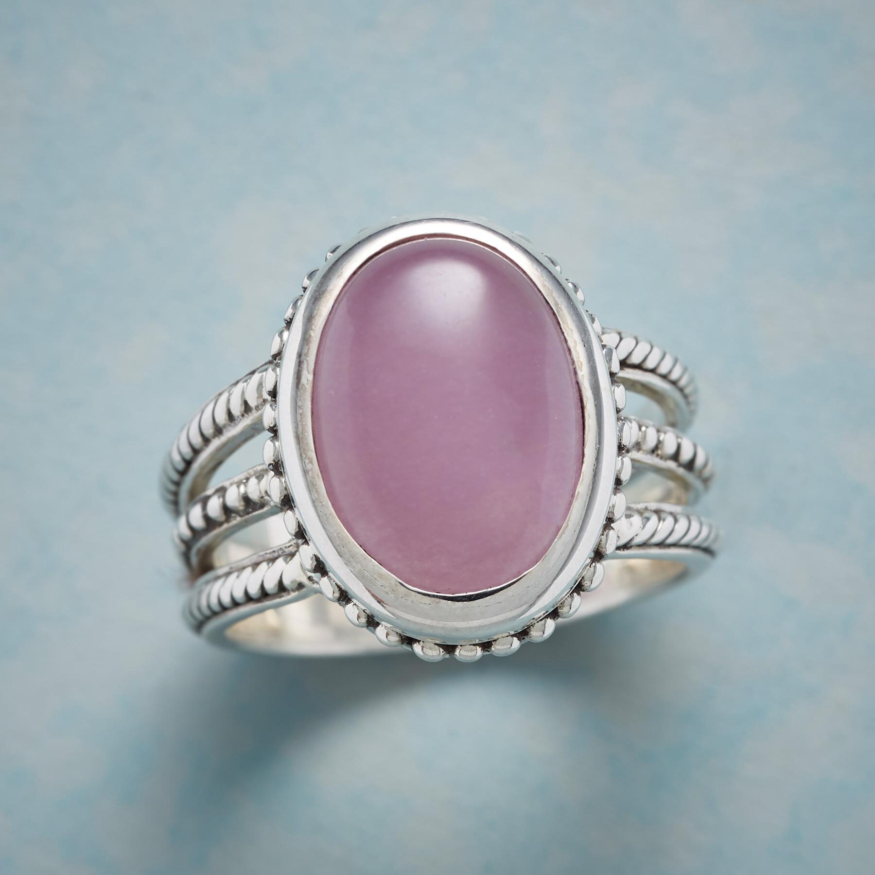 LOVE OF LAVENDER RING: View 1
