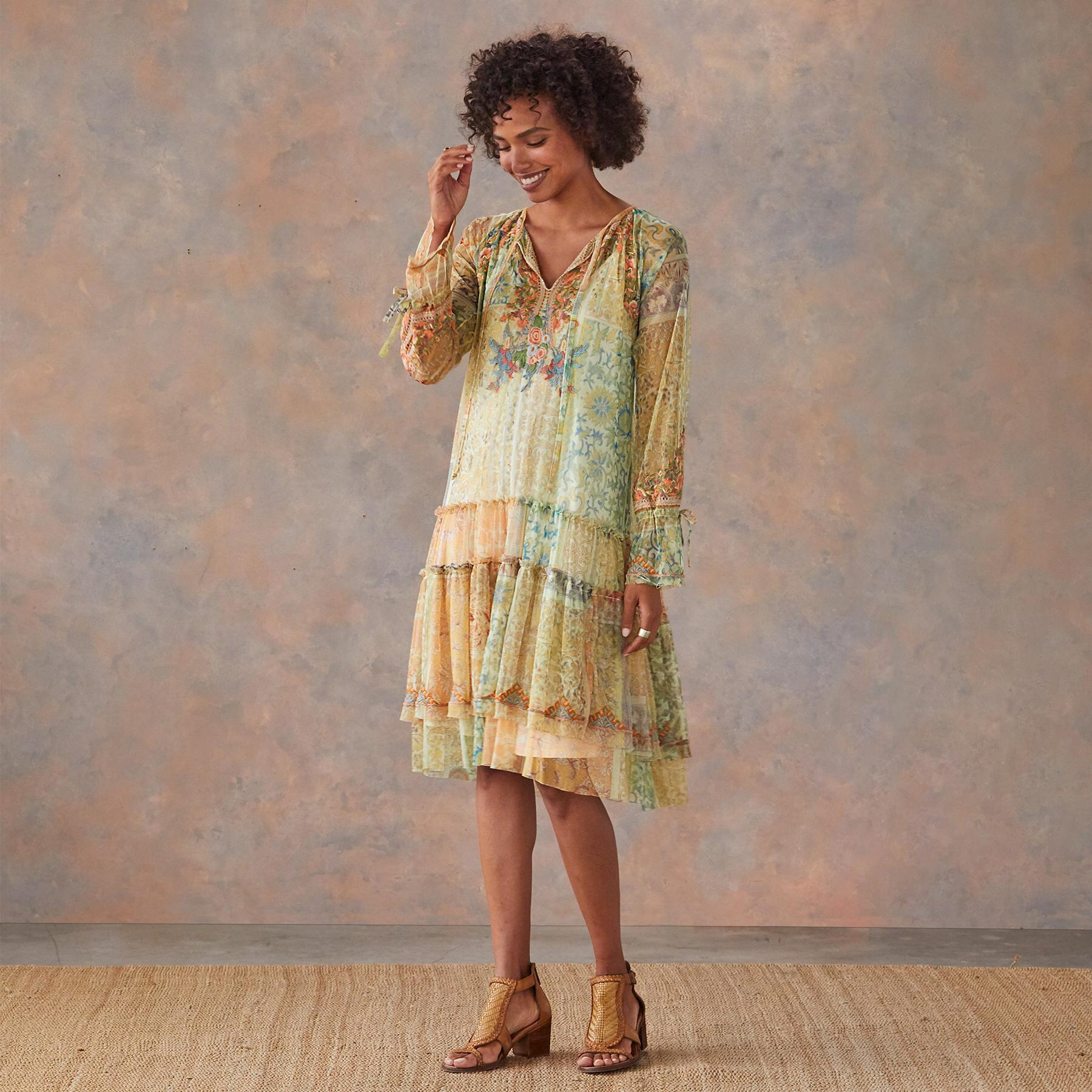 NKECHI MESH DRESS: View 1
