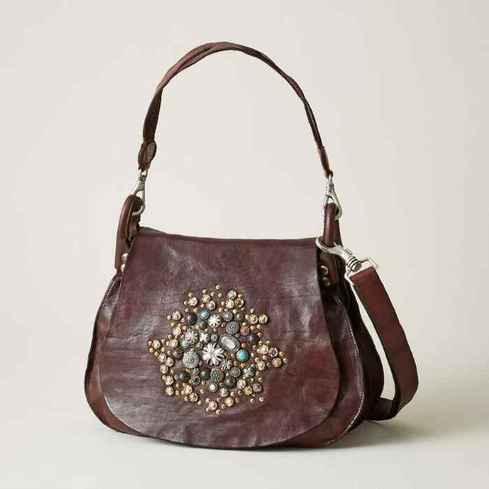 OROSEI MULTI STUDS SHOULDER BAG
